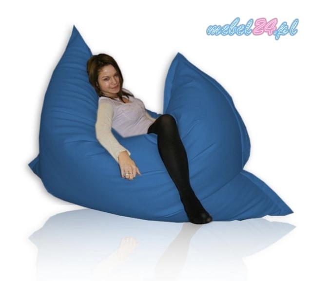 fotel relaksacyjny z granulatem FUNNY Poducha - oryginalny worek sako