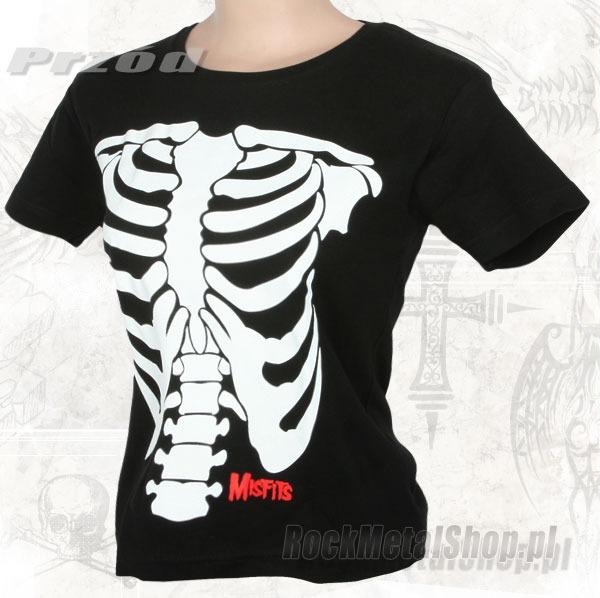 t-shirt MISFITS - SKELETOR
