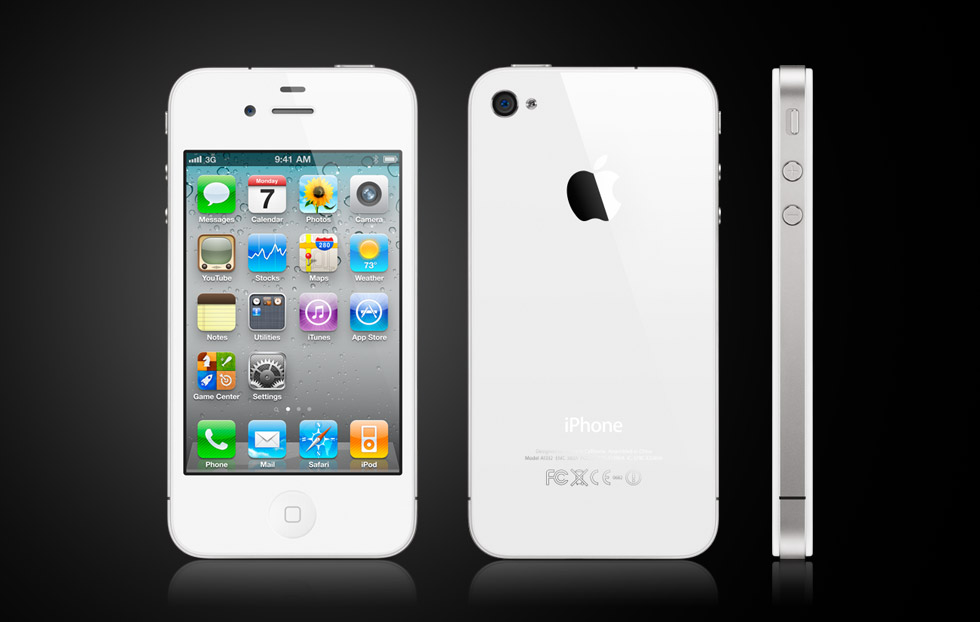Apple iPhone4 white 16GB