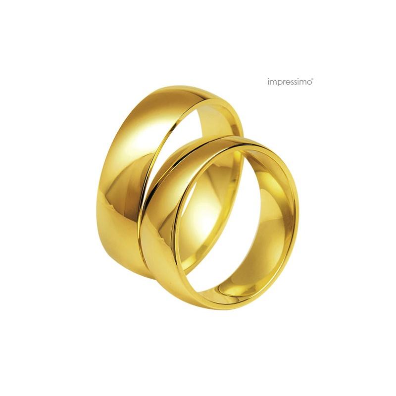 Obrączki ślubne Impressimo -  szerokość: 5 mm
