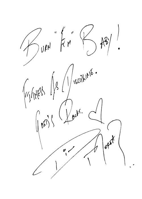 Autografy wszystkich moim ulubionych gwiazd