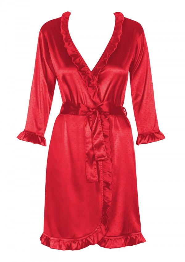 Czerwony szlafrok Marylin