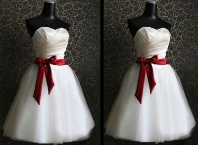 DS-0958 Sukienka; Tasiemka