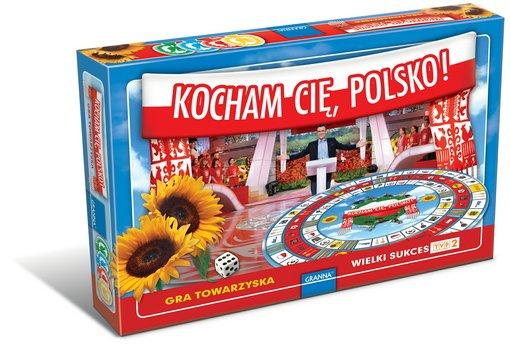 Kocham Cię Polsko - Gra Planszowa!
