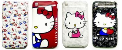 Piękna Obudowa iPhone 3GS 3G Hello Kitty 4 Wzory