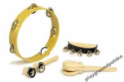 Zestaw instrumentów muzycznych - rytmicznych