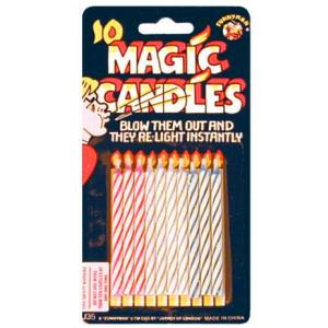 Magiczne świeczki