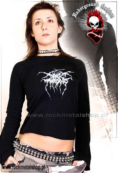 koszulka DARKTHRONE - LOGO (dszp-176) UNDERGROUND FASHION | KOSZULKI | Bluzki Dziewczęce Muzyczne | RockMetalShop.pl