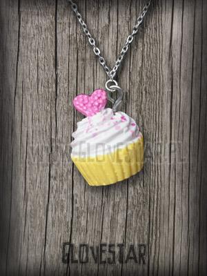 Wisiorek cupcake