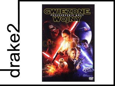 GWIEZDNE WOJNY VII PRZEBUDZENIE MOCY STAR WARS DVD