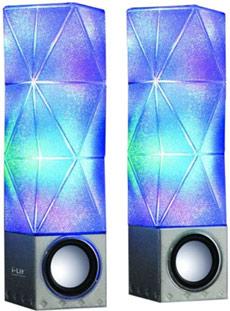 iLit sound activated speakers