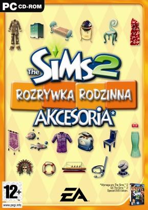Sims 2 akcesoria: Rozrywka rodzinna