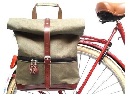Torba rowerowa i Plecak 2w1 Bike Belle KLIST 2016