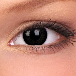 Czarne soczewki kontaktowe