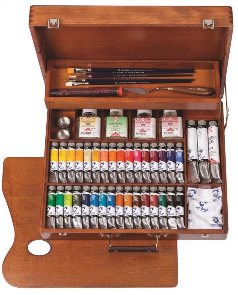 Zestaw olejny Van Gogh Superior Box 65