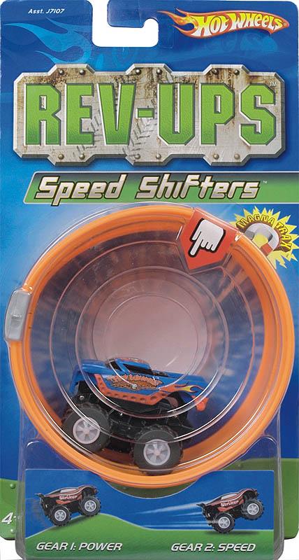 Hot Wheels - Samochodzik Magnetyczny Rev-Ups