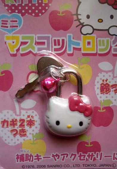 kłódka Hello Kitty