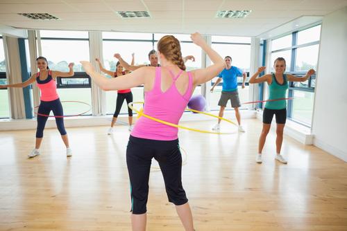 Hula hop do ćwiczeń