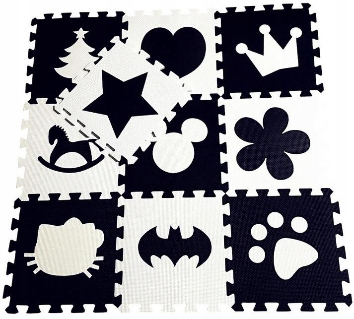 Puzzle Piankowe Mata Piankowa Mieszane 10el. 30x30