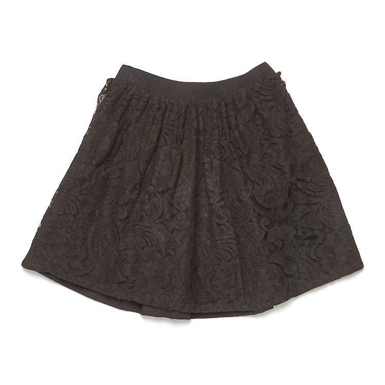 koronkowa spódnica czarna