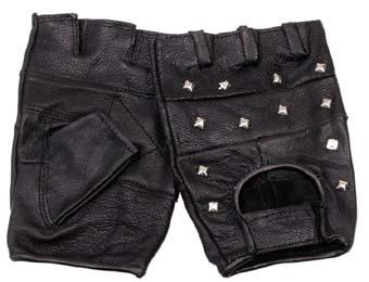 Damskie rękawiczki bez palców.