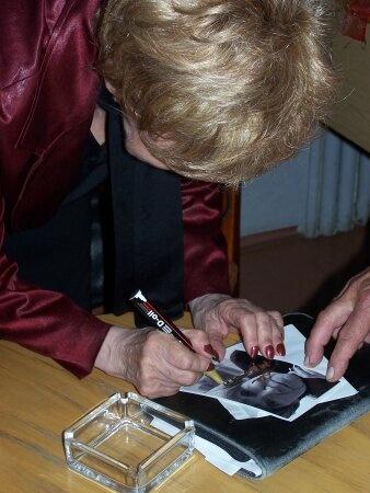 Autograf od Marii Czubaszek