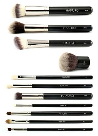 Zestaw pędzli do makijażu HAKURO