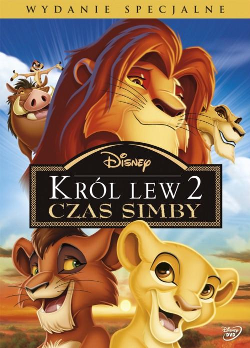 KRÓL LEW 2 : CZAS SIMBY DVD