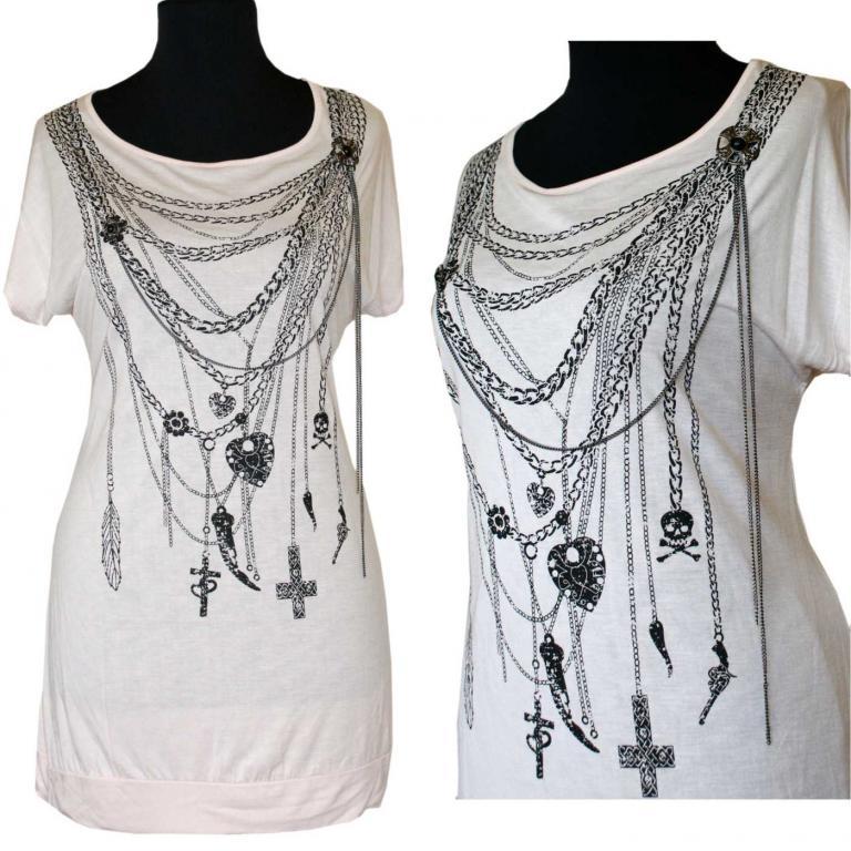 Koszulka z łańcuszkami