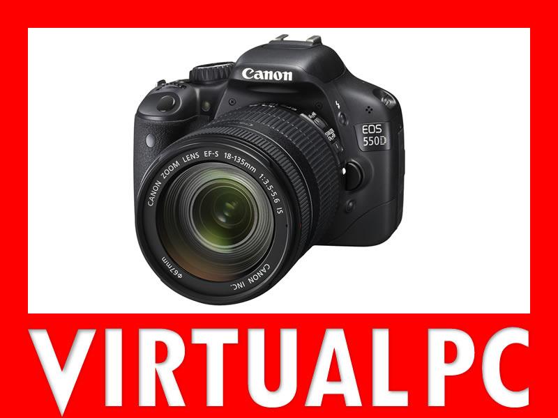 APARAT CANON EOS 550D +18-135 IS NOWY FVAT menu PL