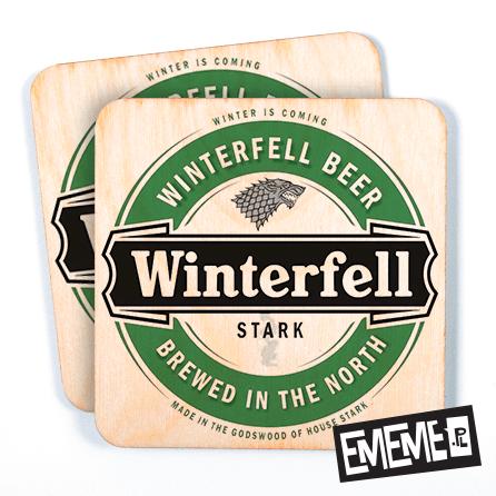 Podkładki Winterfell