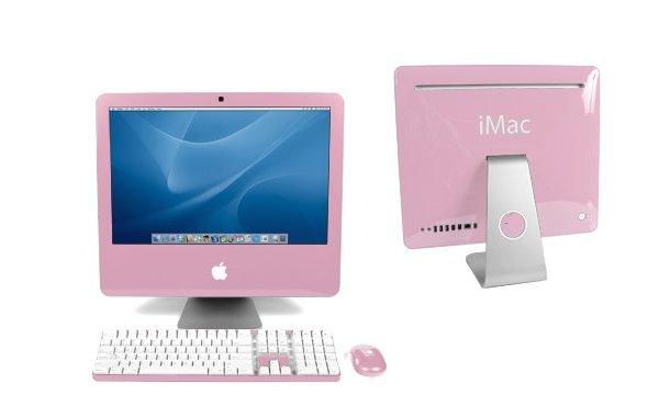 różowy apple iMac