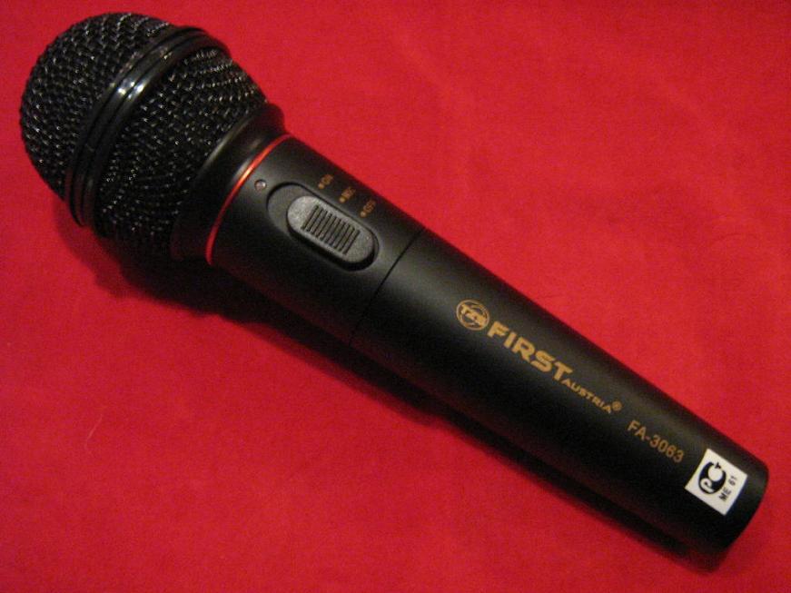 BEZPRZEWODOWY Mikrofon dynamiczny Gw12m