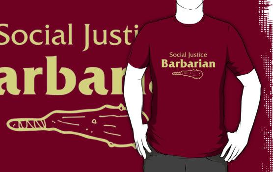 Koszulka Social Justice Barbarian