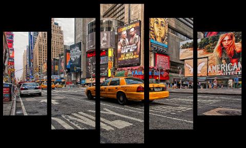 Obraz ; Paryż / Nowy Jork