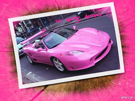 różowy kabriolet ;)