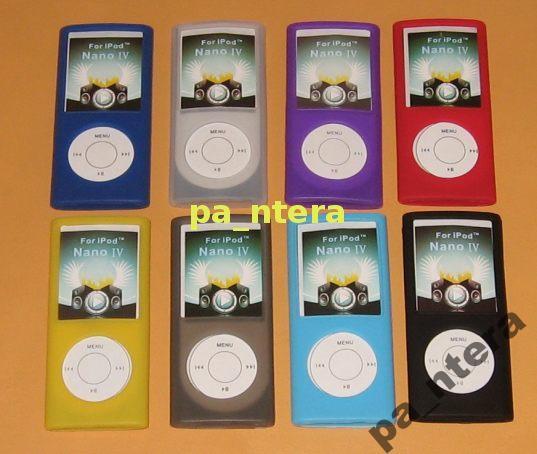 Błękitny pokrowiec do iPod'a Nano