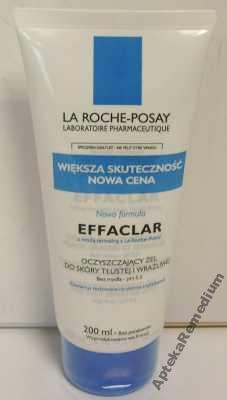 LA ROCHE POSAY EFFACLAR żel 200ml