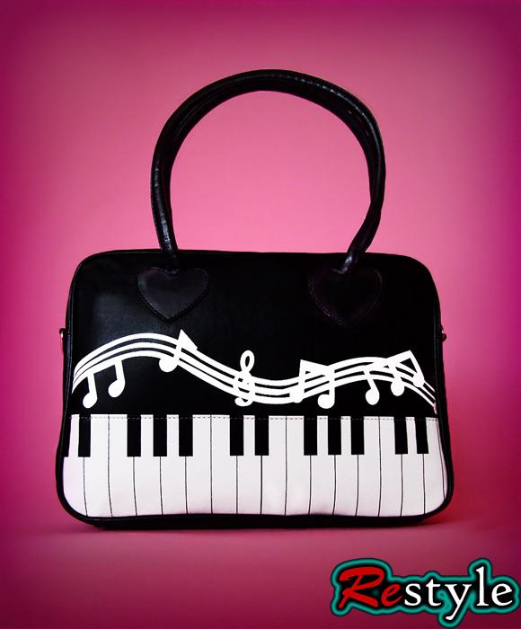 Muzyczna Torba torebka PIANINO klawisze