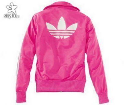 różowa bluza adidasa