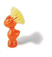 KOZIOL TWEETIE Vegetable Brush (pomarańczowa szczotka do warzyw)