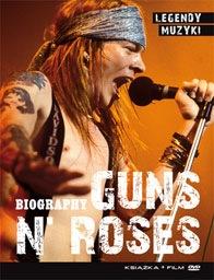 GUNS N`ROSES Legendy muzyki książka+film DVD nowa