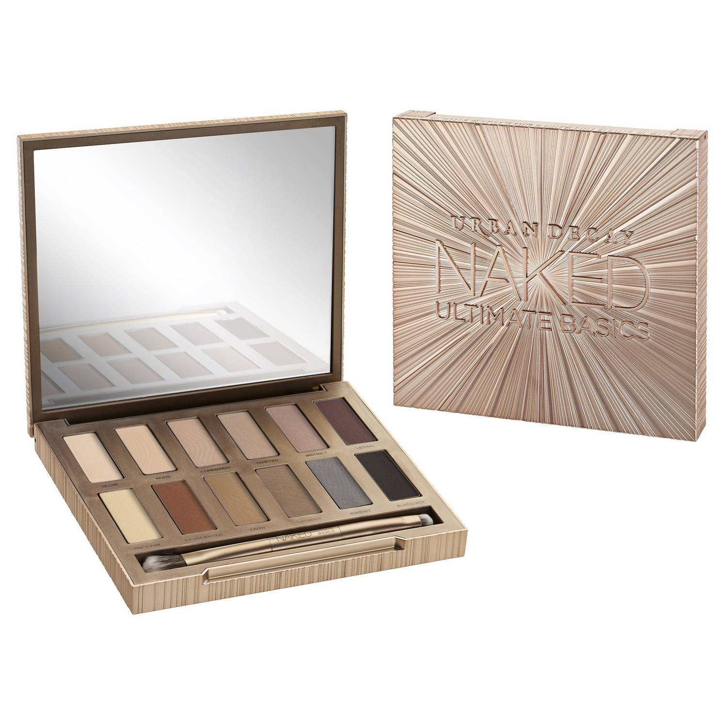 Urban Decay Naked Ultimate Basics, paleta cieni