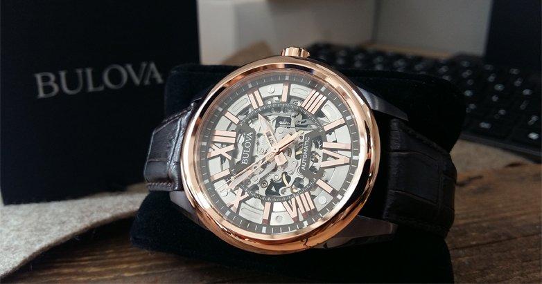 Oryginalne zegarki typu skeleton