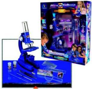 Zabawkowy mikroskop