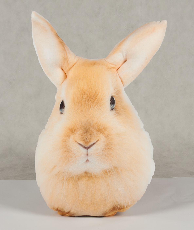 Poduszka w kształcie królika