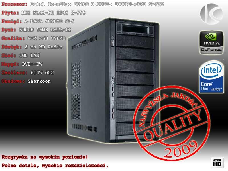 ++SUPER KOMPUTER 6.00GHz, 4GB GTX 260 896MB+ MOC++ (574507801) - Aukcje internetowe Allegro