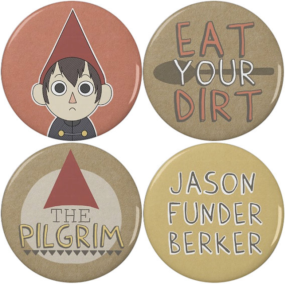 Over the Garden Wall buttons
