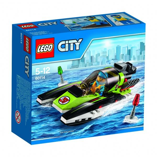 LEGO City Łódź Policyjna