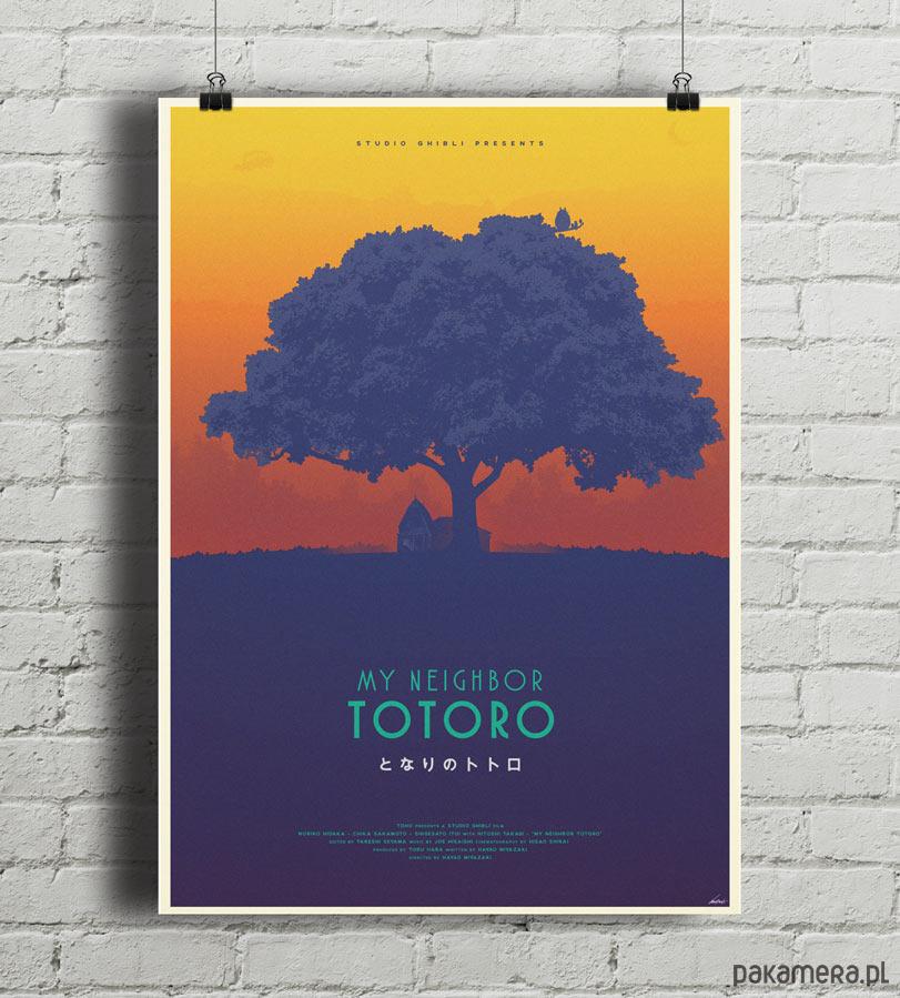 Totoro - Ghibli - plakat B2